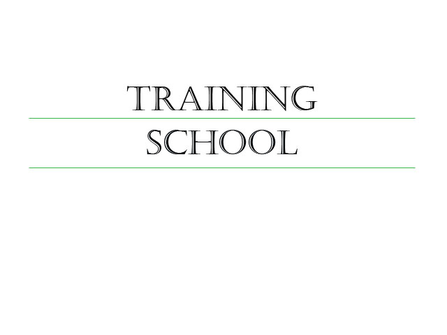 Learn more about our training school
