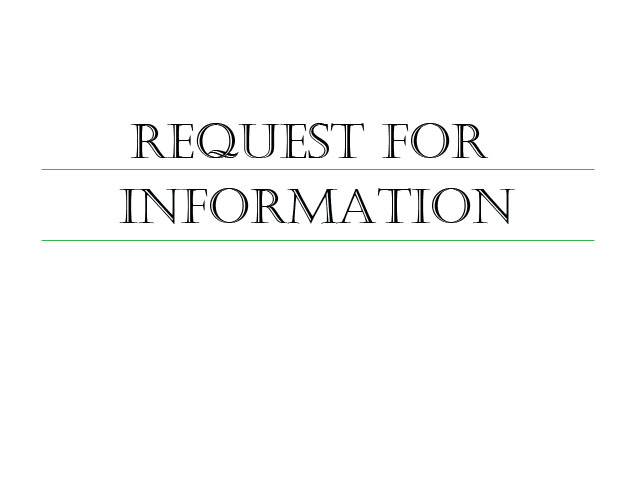 Learn more about our request for information services