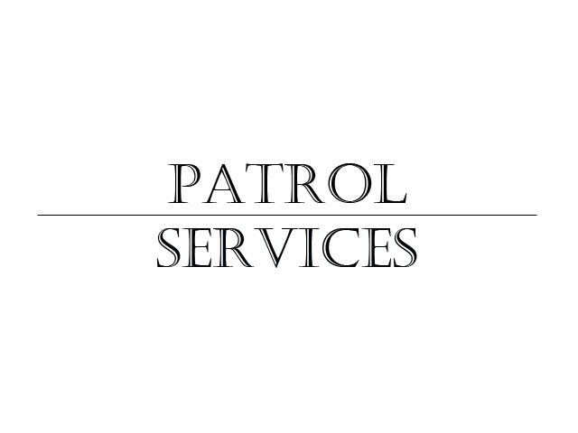 Learn more about our patrol services